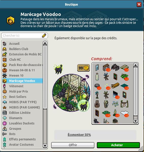 Catalogue Vaudoo