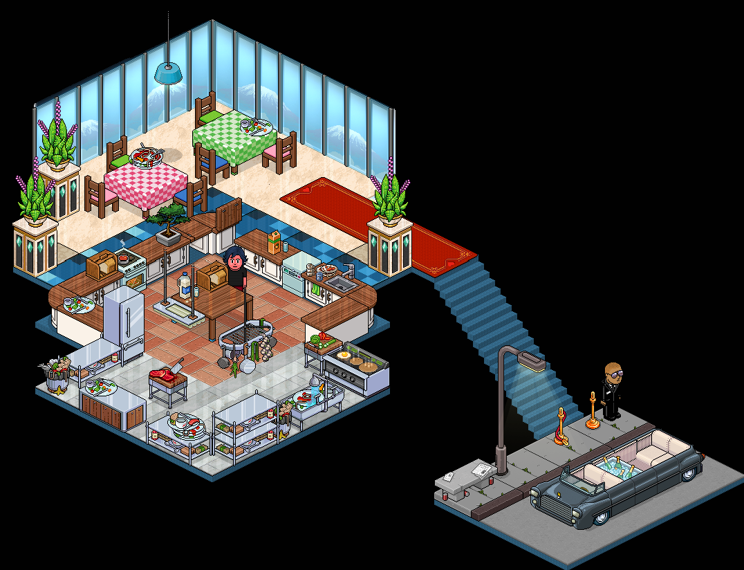 Appart Restaurant Chic