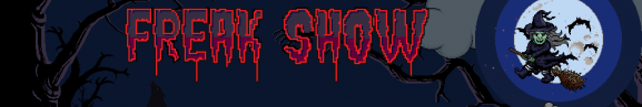 Webpromo The freak show