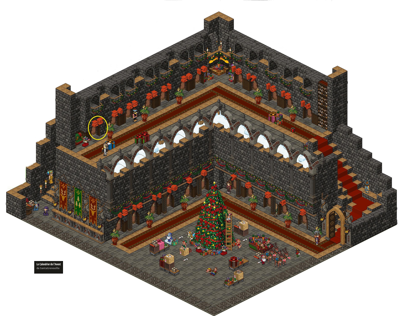 Château Magique du Calendrier de l'Avent Noël 2016 - Jour 25