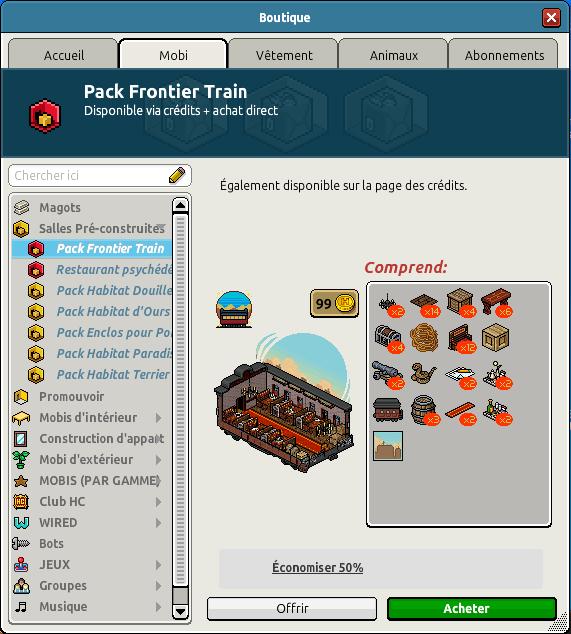 Cata Pack Train