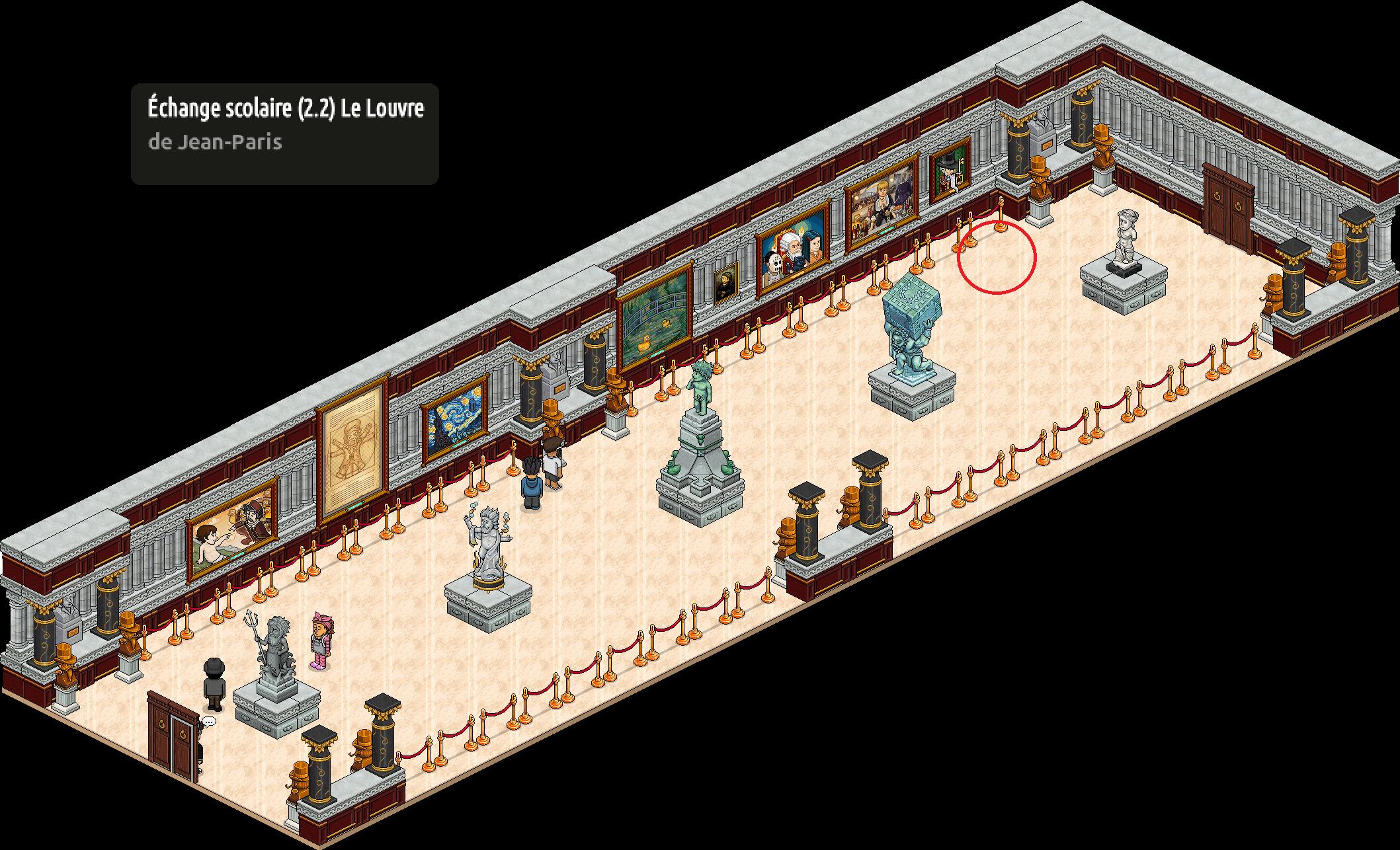 Echange scolaire (2.2) Entrée du Louvre