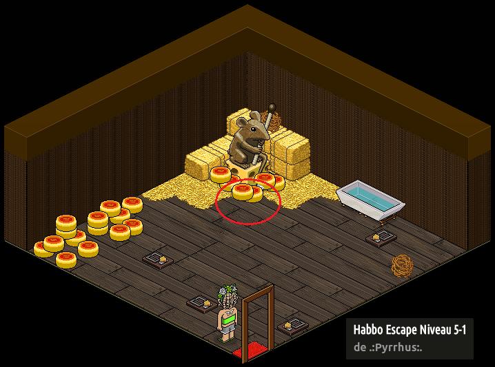 Habbo Escape - Niveau 5 (a)