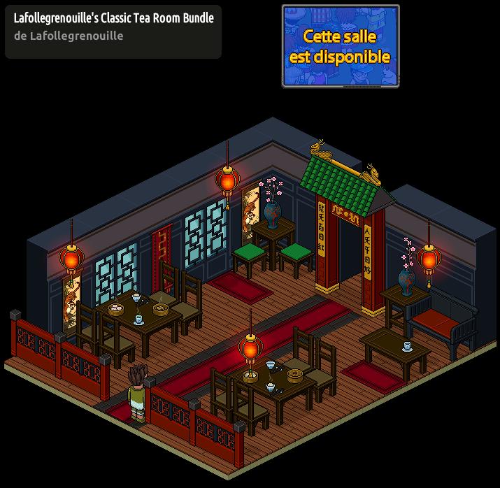 Appart Salon de Thé Chinois Classique