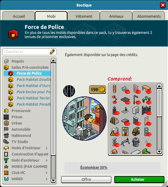 Catalogue Force de Police