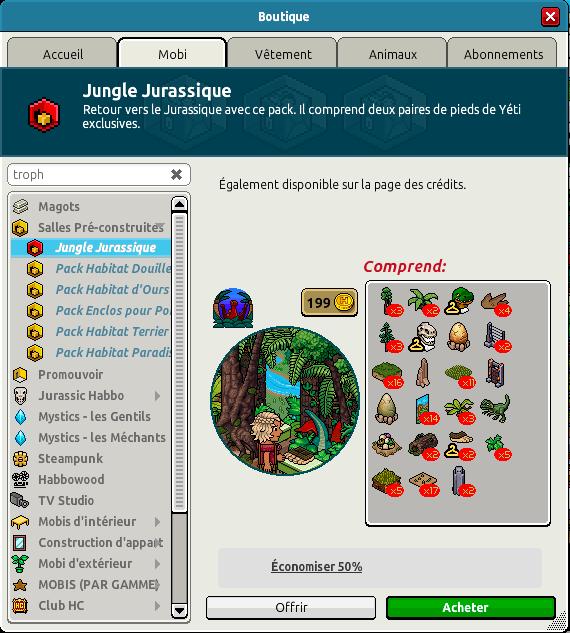 Catalogue Jungle Jurassique