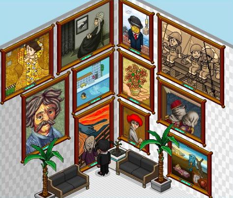 Les nouveaux tableaux