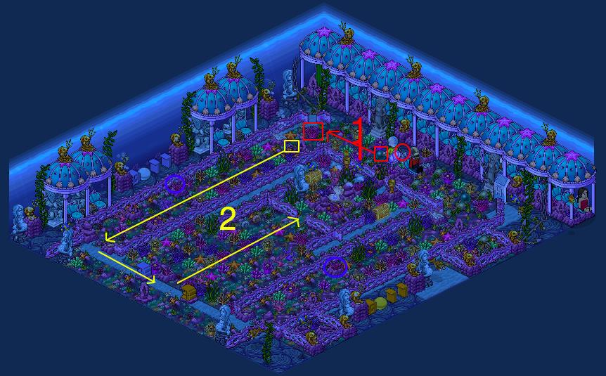Royaume de Corail 4 - Jardin de Corail Toxique