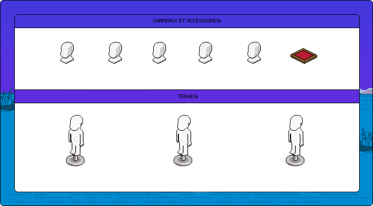Modèle de vêtements Royaume de Corail