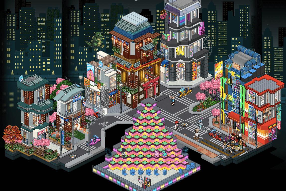 Arcade Habbo - H-Bert