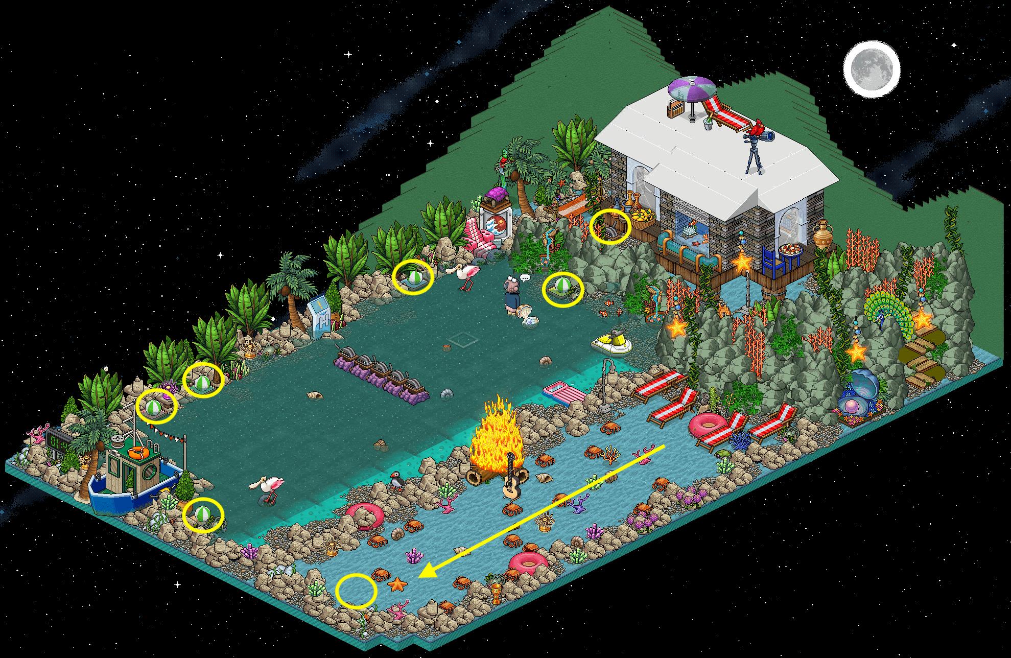 Feu de joie à la plage