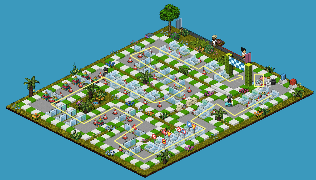 Habbo Race - Circuit 3