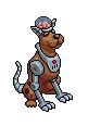 Cyber le Cyborg Dog rare