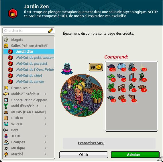 Catalogue Jardin Zen