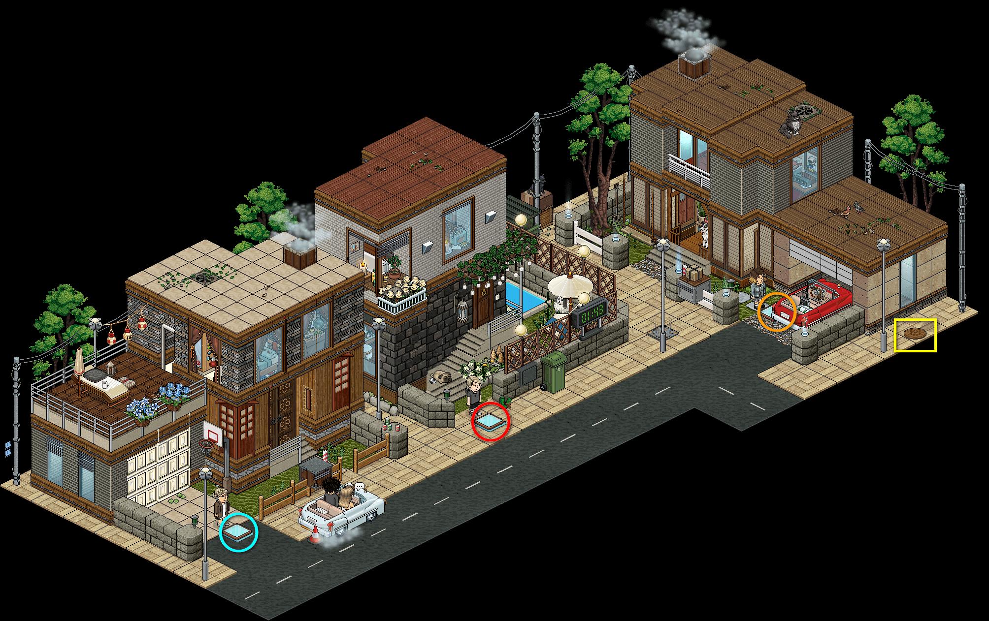 [HS] V.6 - Rue résidentielle