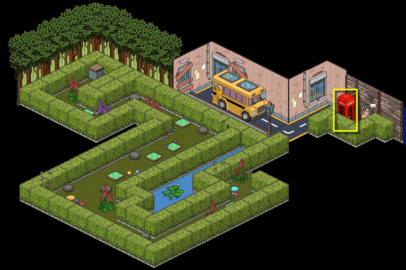[Aventure] Dans le jardin