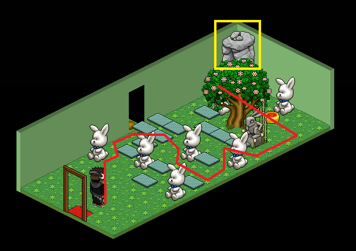 'Salle 11 - Le peuple lapin