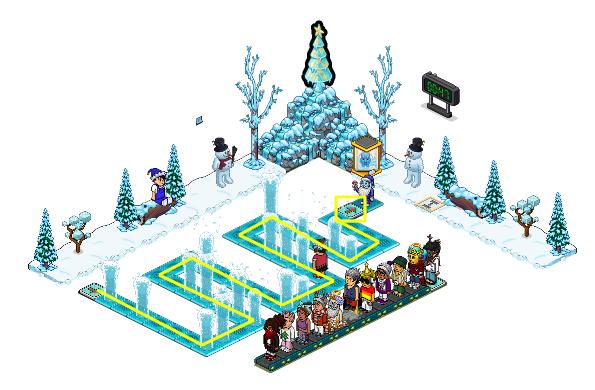 Quand Noël rime avec gel