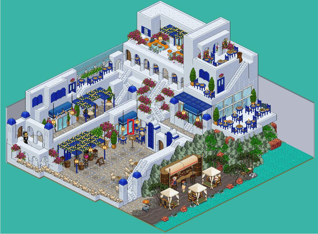 Santorin - 3. Dining Square