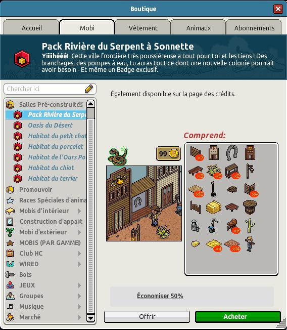 Catalogue VilleRivière du Serpent à Sonnette