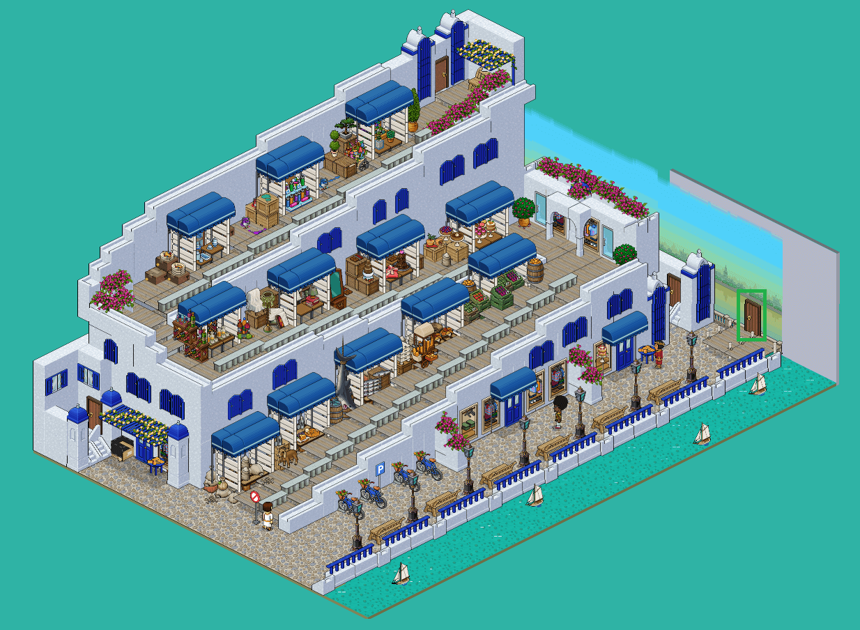 Santorin - 3. Market Square