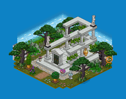 Santorin - 2. Ruine grecque