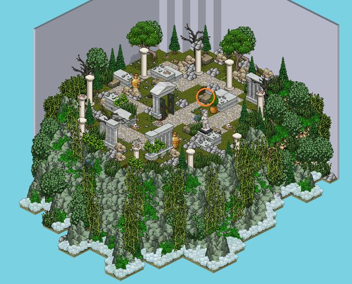 Santorin -2. Ruine grecque