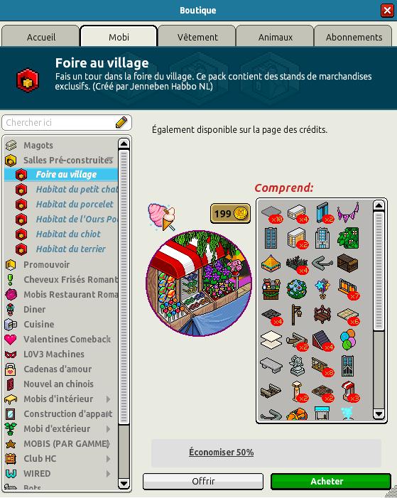 Catalogue Foire au village