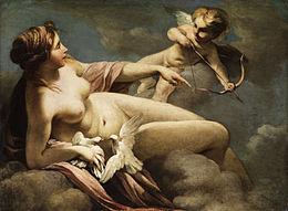 Question 8 : Vénus et Amor