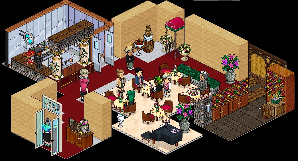 Appart Restaurant Romantique