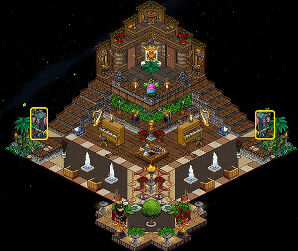 Labyrinthe RF - Hall d'entrée