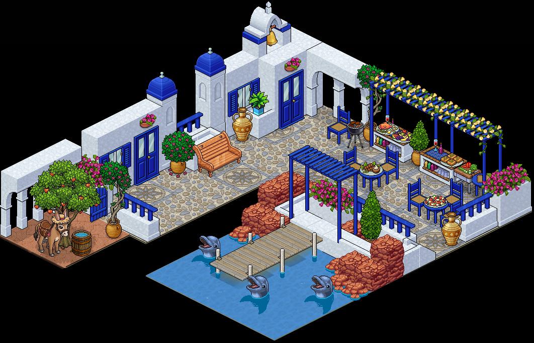Appart Port de Santorin