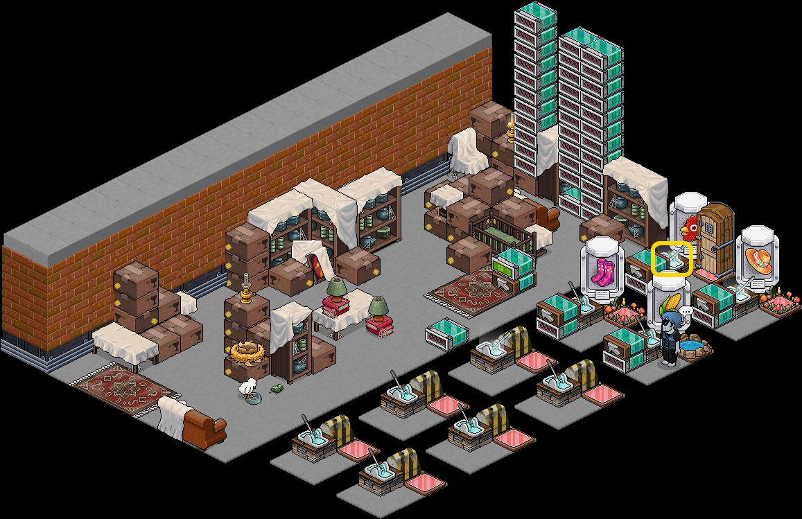HabboAndChill - Appartement lots