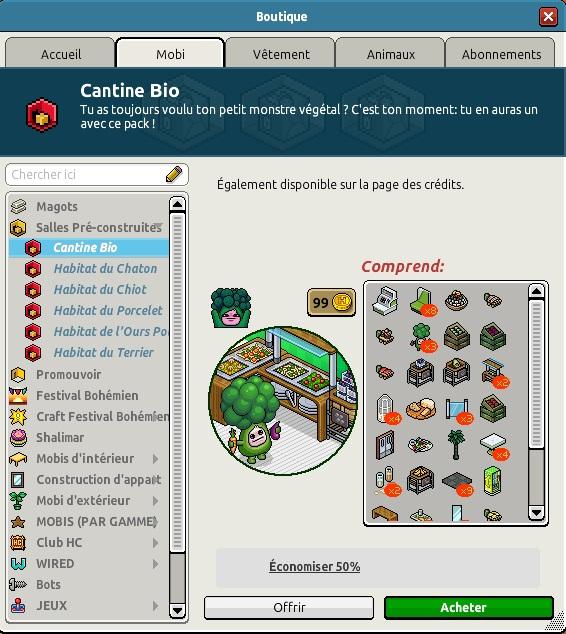 Catalogue Cantine Bio