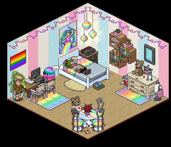 Appart Chambre Rainbow