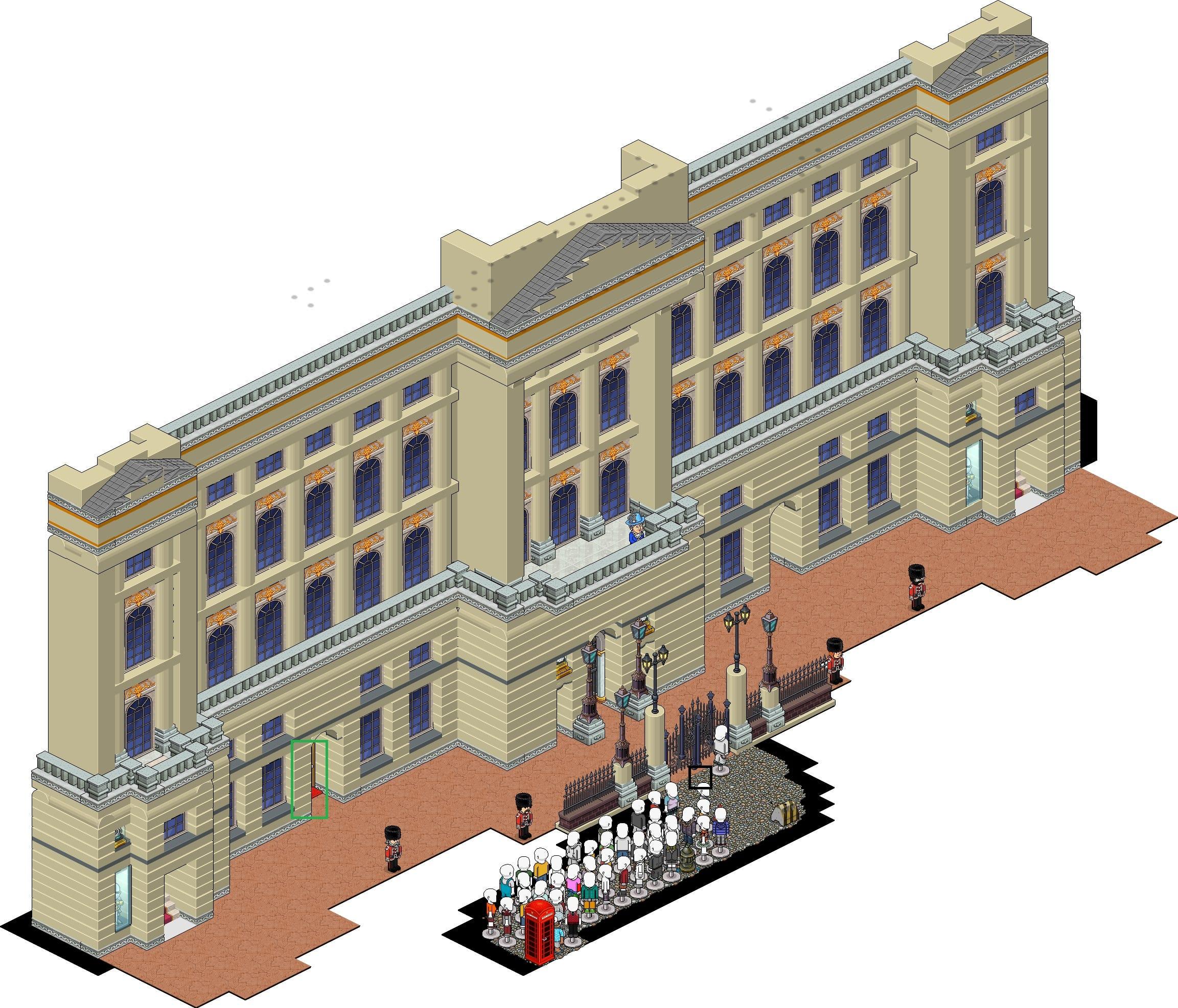 [WWB] Angleterre - Londres - Buckingham Palace