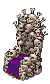 LTD Trône de Crânes