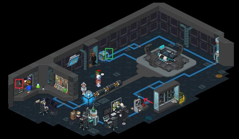Habbvengers – Base S.H.I.E.L.D Secrète