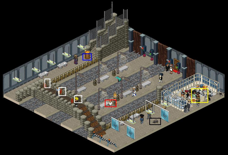 [HP6-1]Gare de métro de Londres