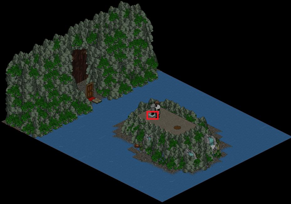 [HP6-12]Entrée grotte