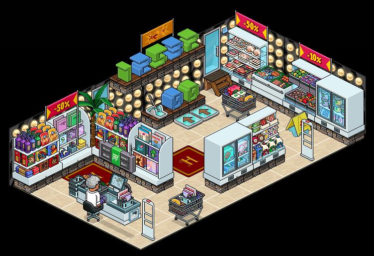 [S&S Games] - [48] Au supermarché