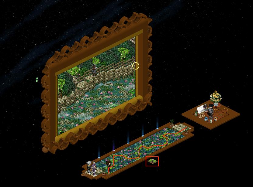 [Art] Voyage à travers les Toiles - Le Jardin