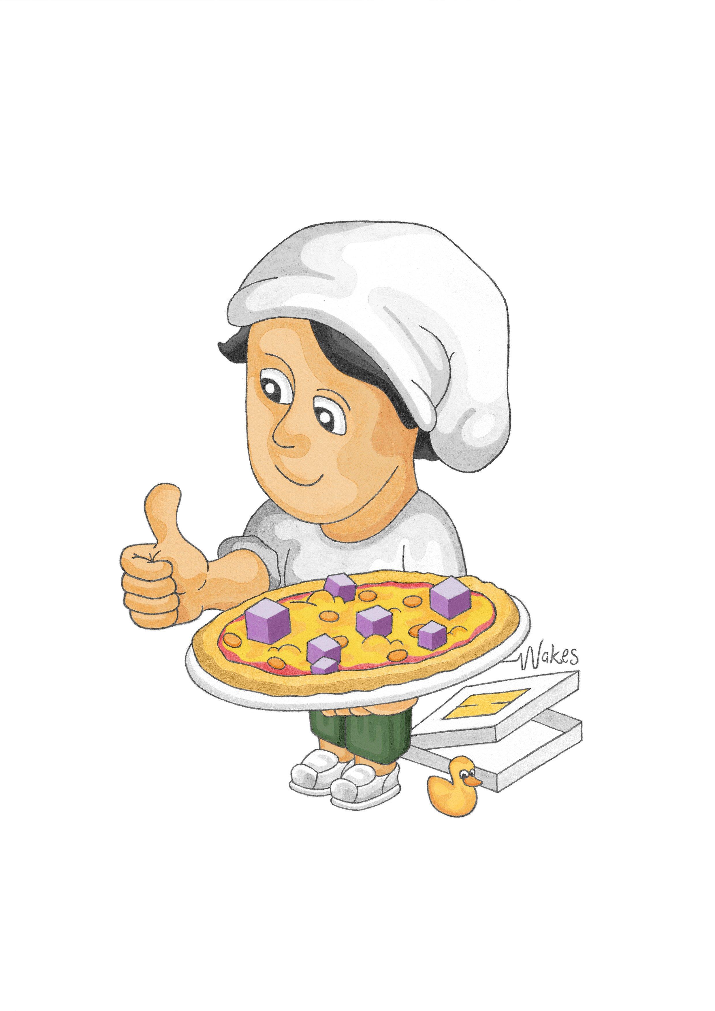 Pizza de Wakes