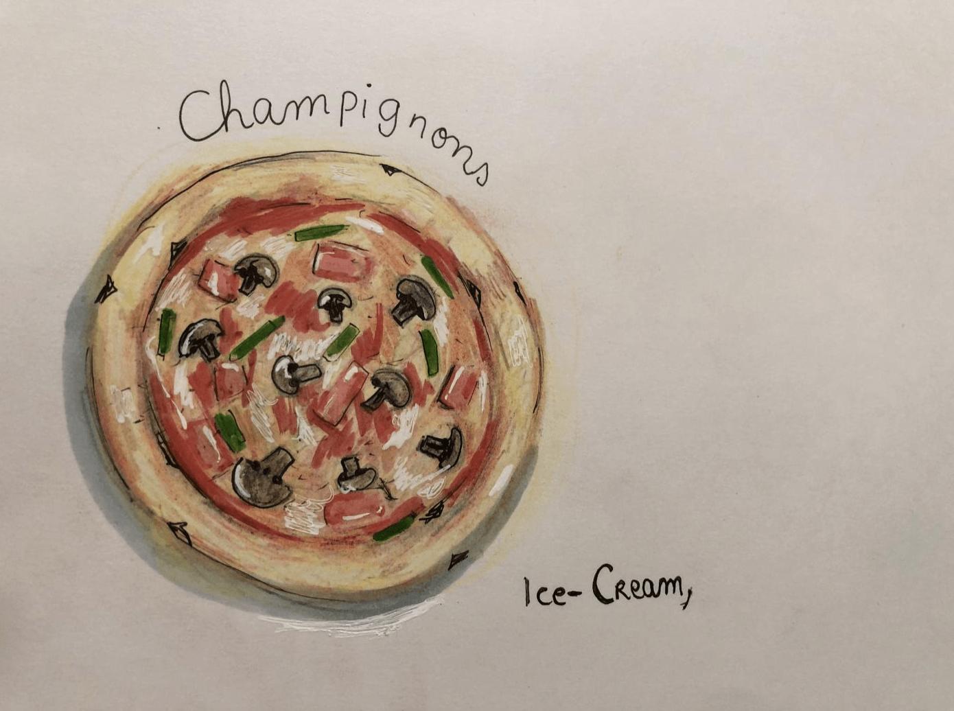 Pizza d'Ice-Cream,