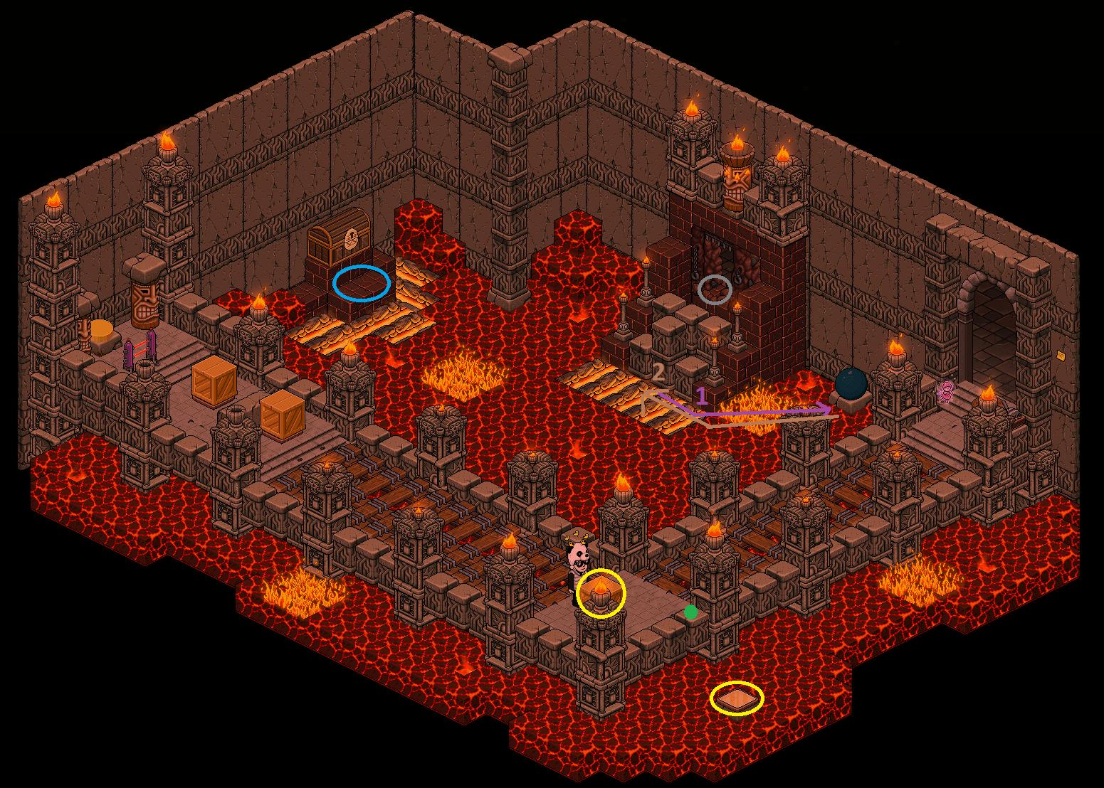 Zelba - Temple du feu 1 (Partie 2)