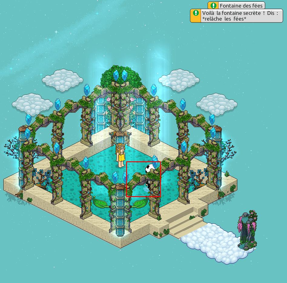 Zelba - Fontaine des fées