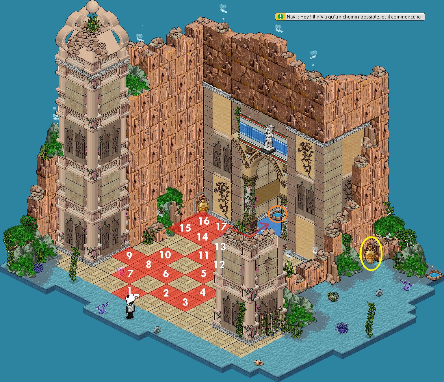 Zelba - Temple de l'eau - Entrée