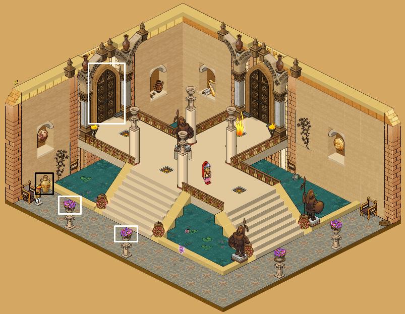 Zelba - Temple de l'Esprit - Hall