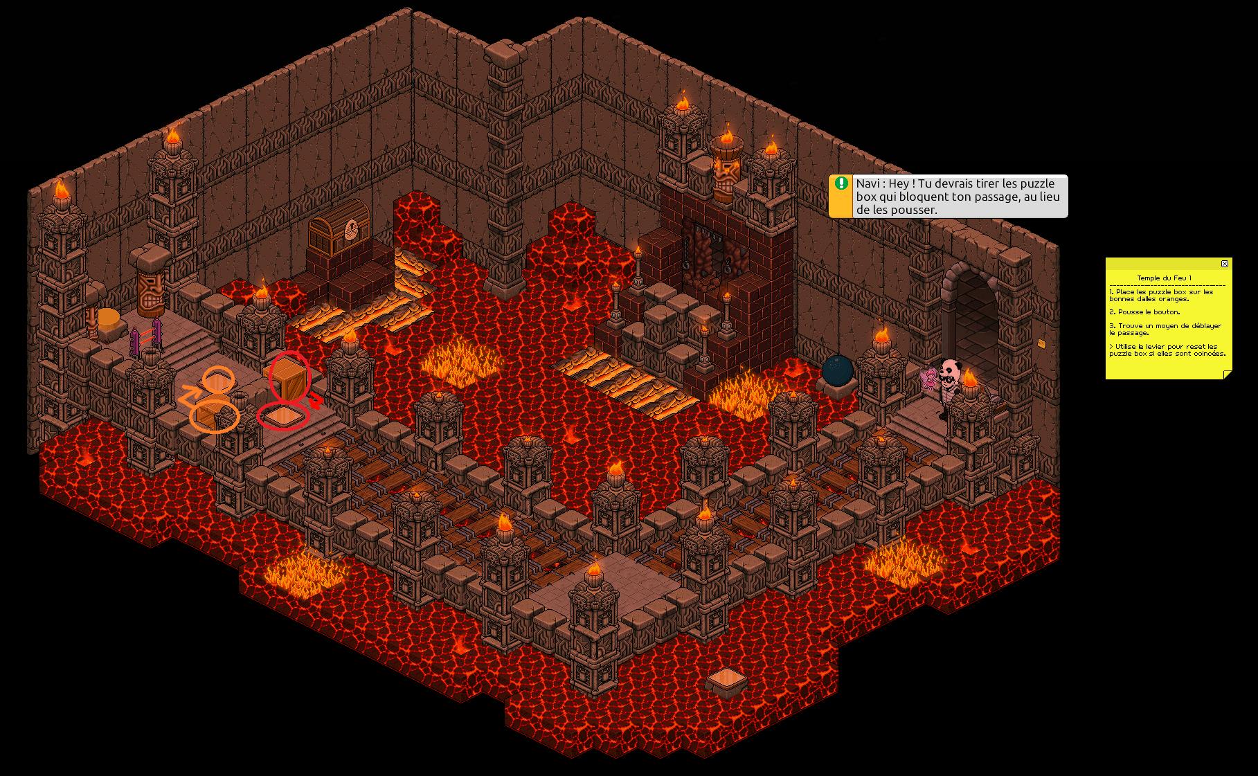 Zelba - Temple du feu 1 (Partie 1)