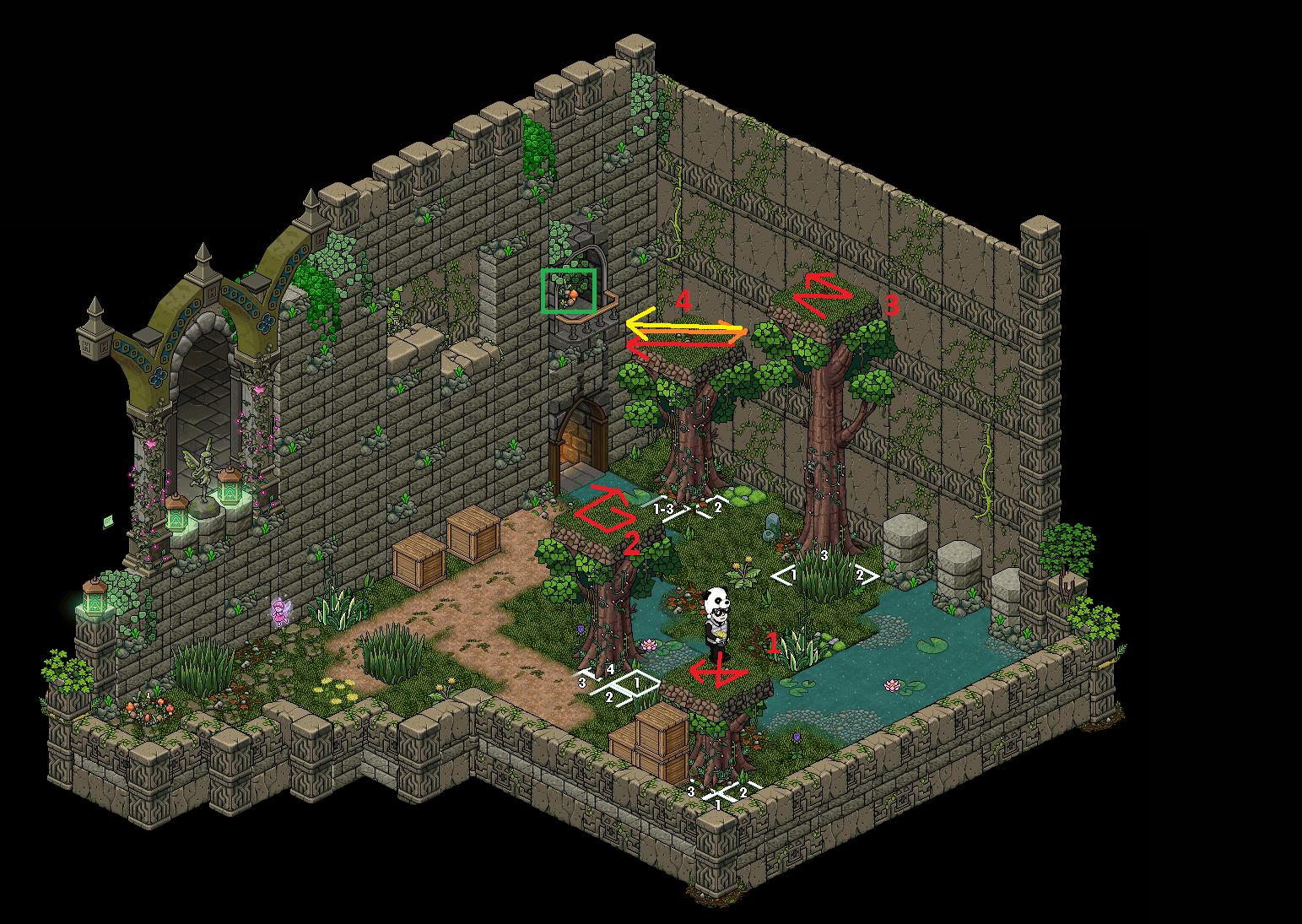 Zelba - Temple de la forêt 2 (Partie 3)
